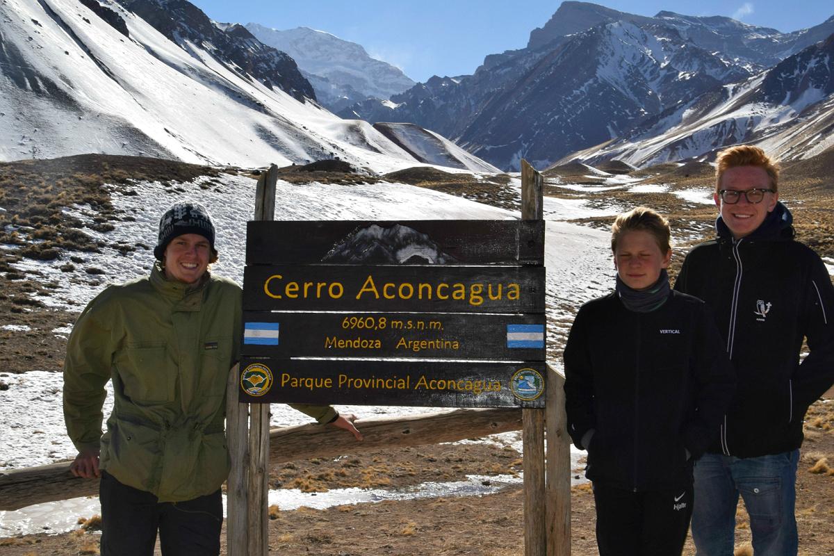 Mendoza: Ved Aconcauga