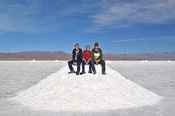 Salinas Grandes: På saltbjerget