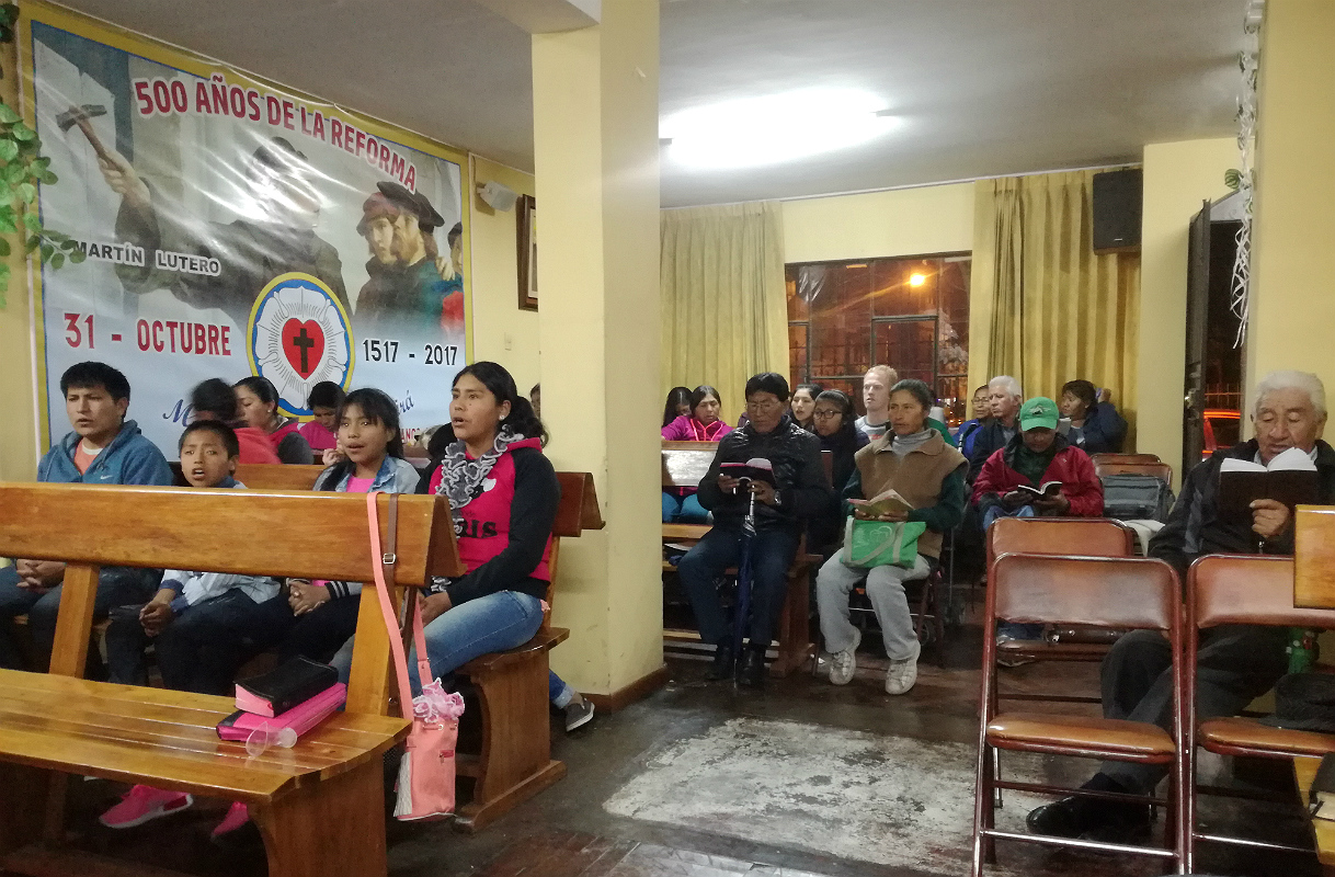 Undervisning i INEL, Arequipa