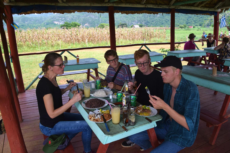 Frokost på farmen