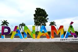 Skilt i Panamá City