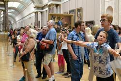 Louvre drengene