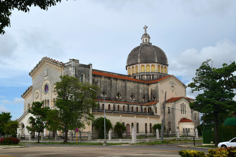 Stor katedral i Havana