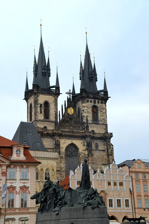 Johan Huss og Týn Kirken