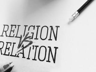 Religion eller relation?