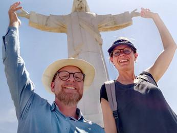 Missionærkonference med Jesus i hånden