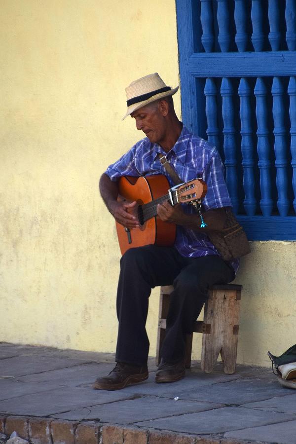 Spillemand i Trinidad