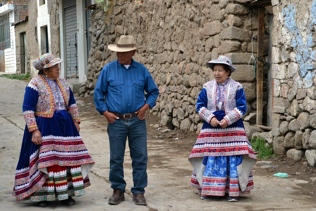 Folk fra Cabanaconde