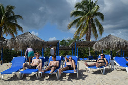 Afslapning på Playa Ancón