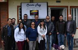 På besøg hos menighed i Bogotá