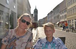 Merete og Hjalte i Wittenberg