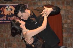 Tangoshow på Tortoni