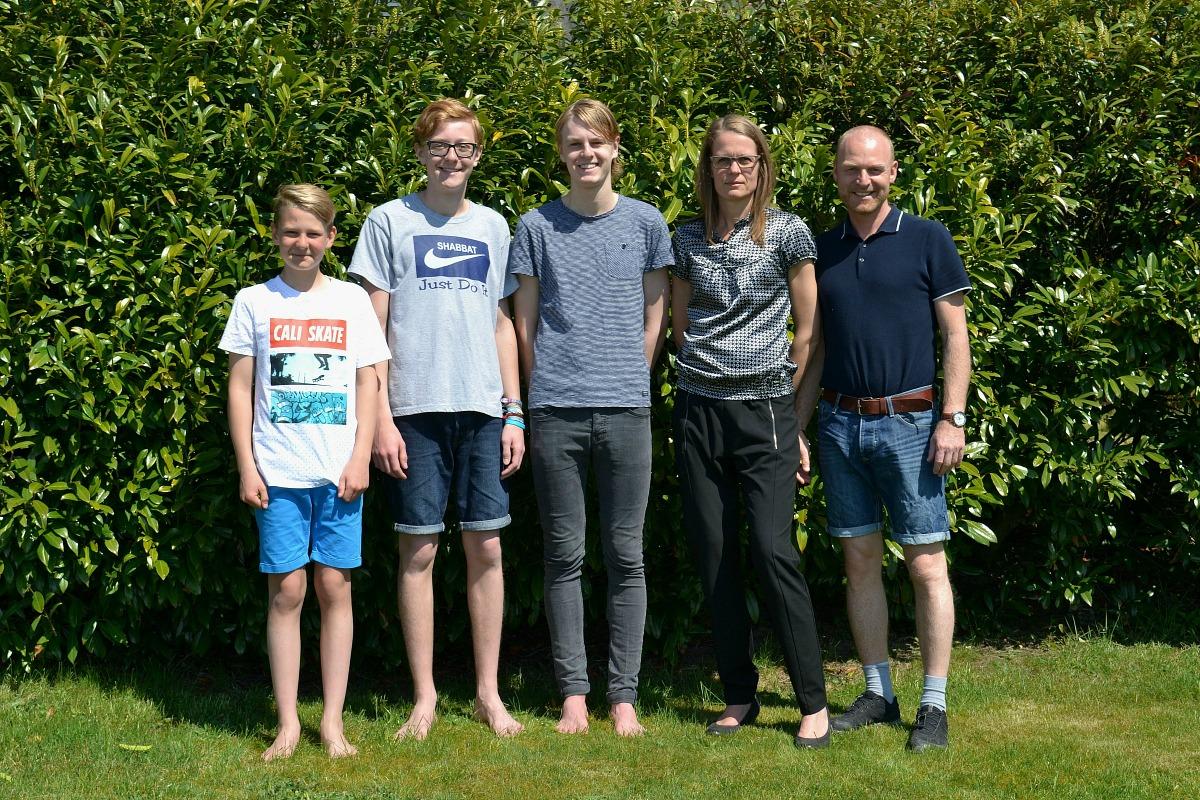 Familiebillede maj 2016