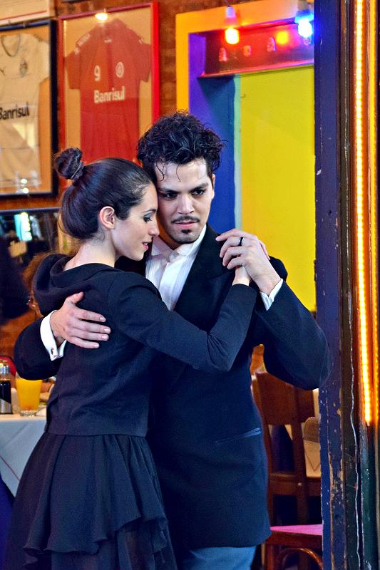 Tango på el Caminito