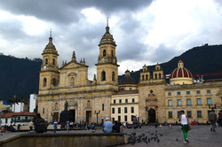 Katedralen på den centrale plads