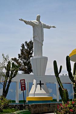 Cristo Blanco, Paucarpata kirkegård