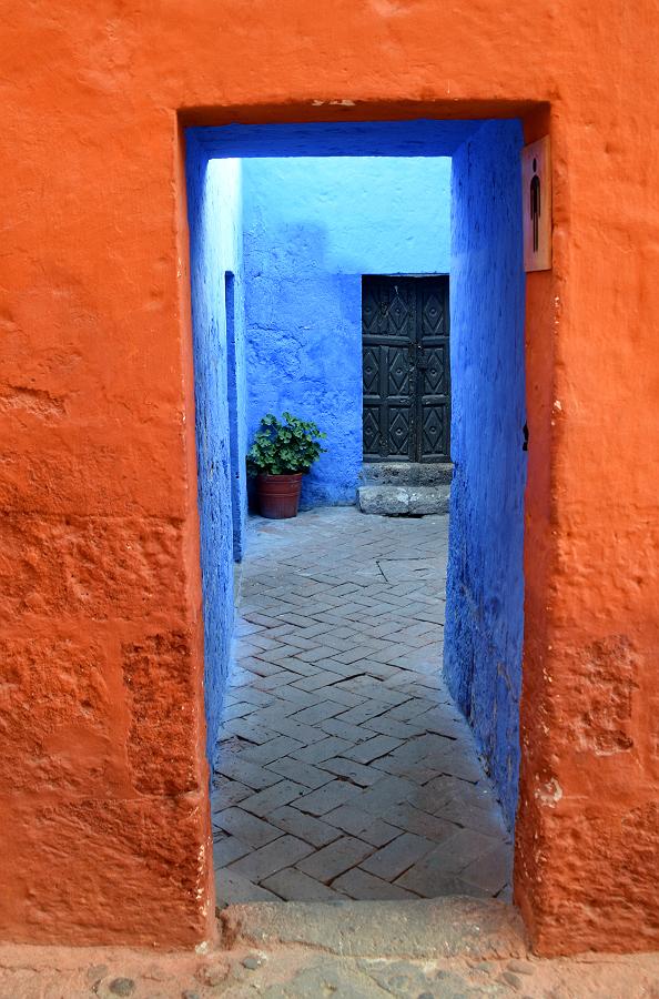 Fra Santa Catalina-klostret