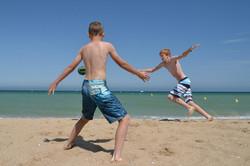 Volley på stranden