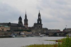 Udsigt over Dresden