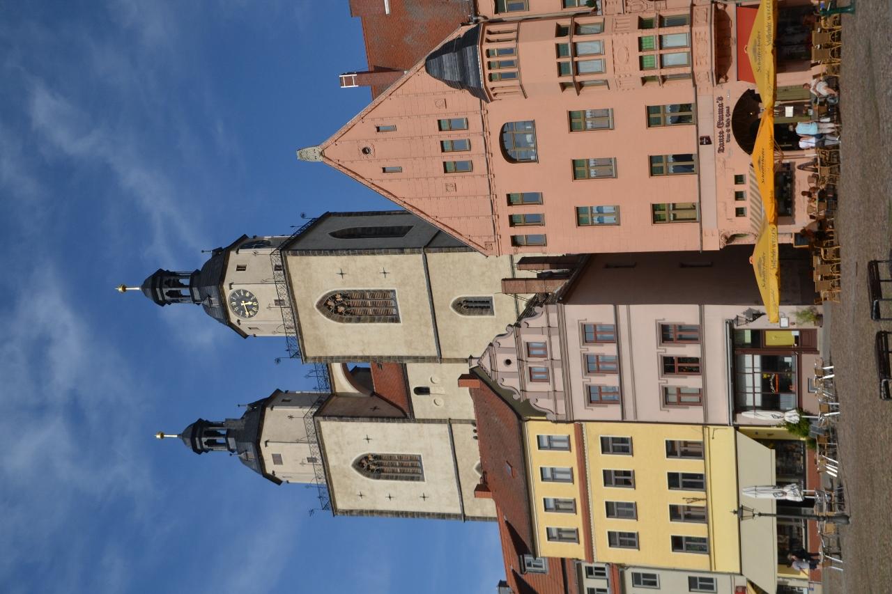 Torvet i Wittenberg
