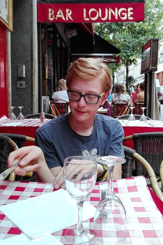 Arvid på fortovsrestaurant