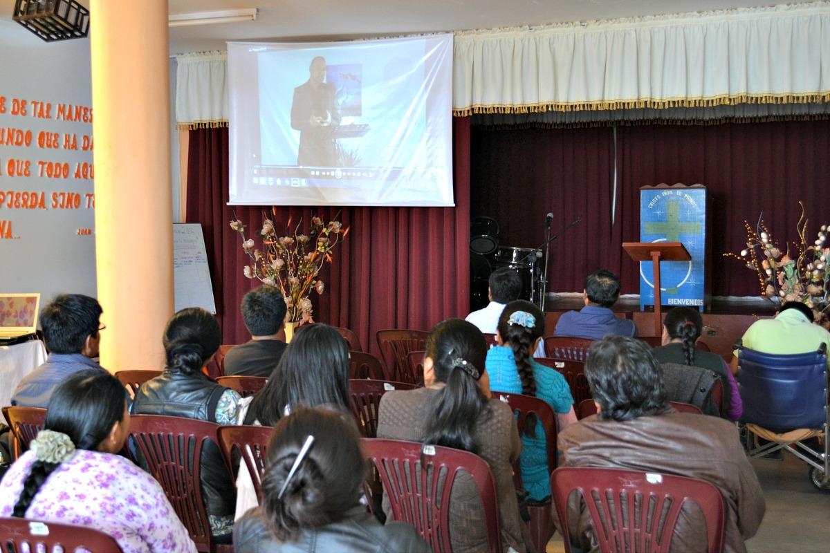 Videoundervisning ved gudstjeneste