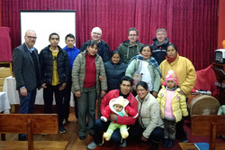 Fra undervisningsaften i Puno