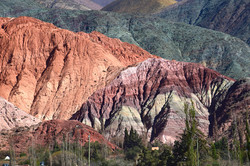 Purmamarca: Det syvfarvede bjerg
