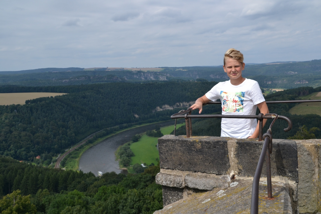 Hjalte på Königstein