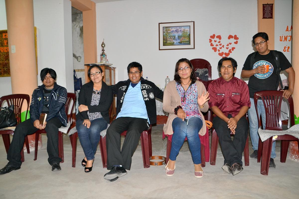 Ungdomsmøde i Tacna