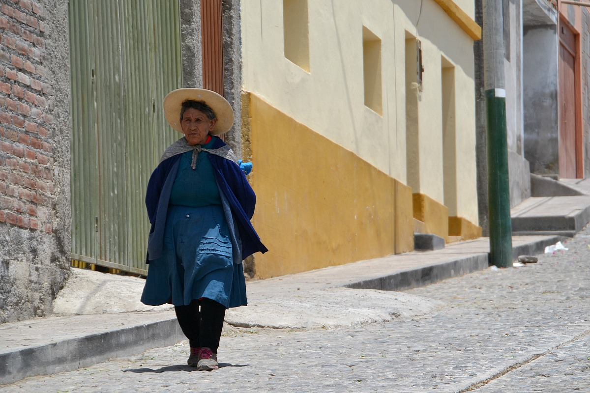 Kvinde i Paucarpata