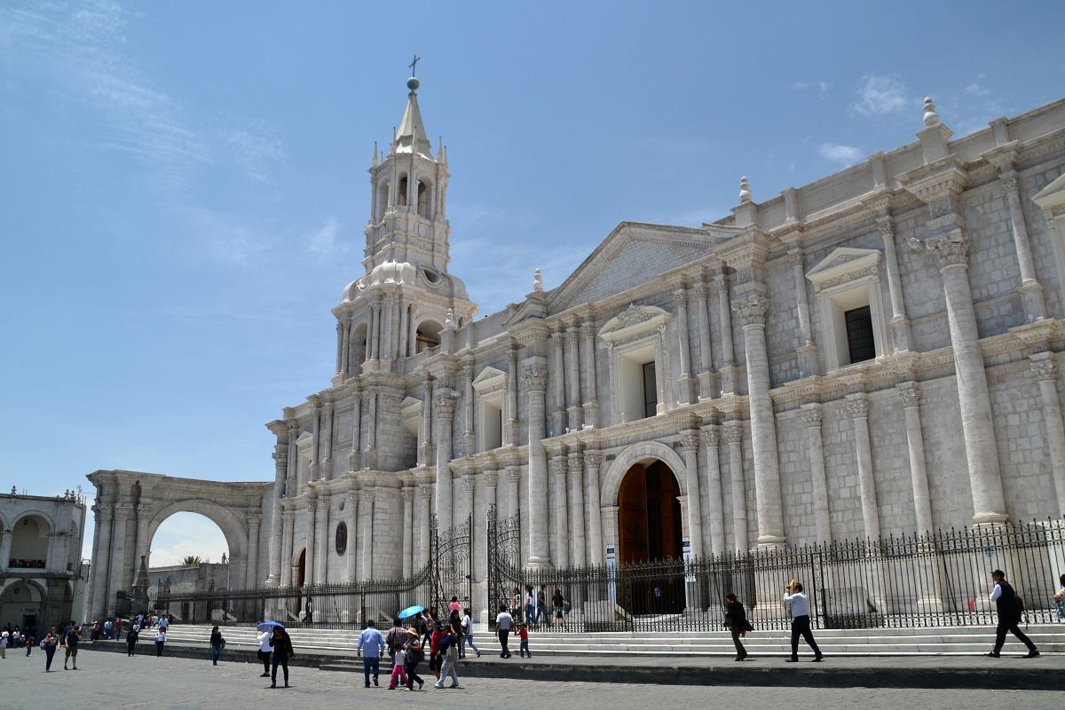 Katedralen i Arequipa