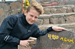 Hjalte i 4910 meters højde