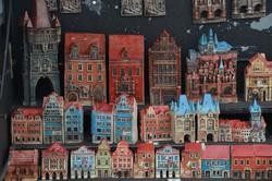 Dekorative huse i Prag