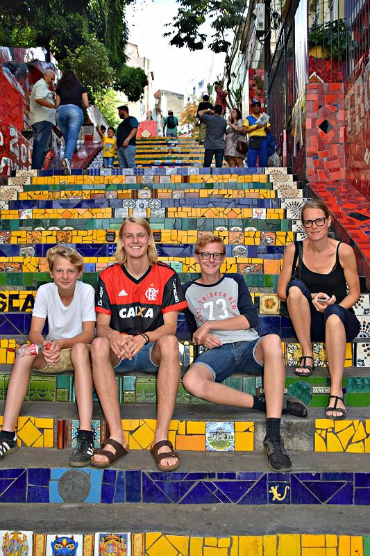 Rio de Janeiro: Escadaria Selaron