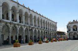 Plaza arcos