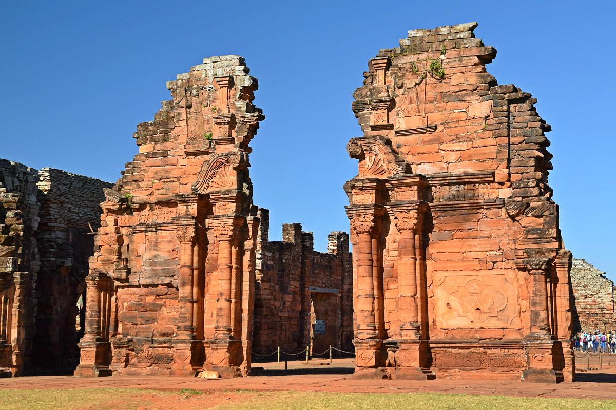 San Ignacio: Jesuitter-ruiner