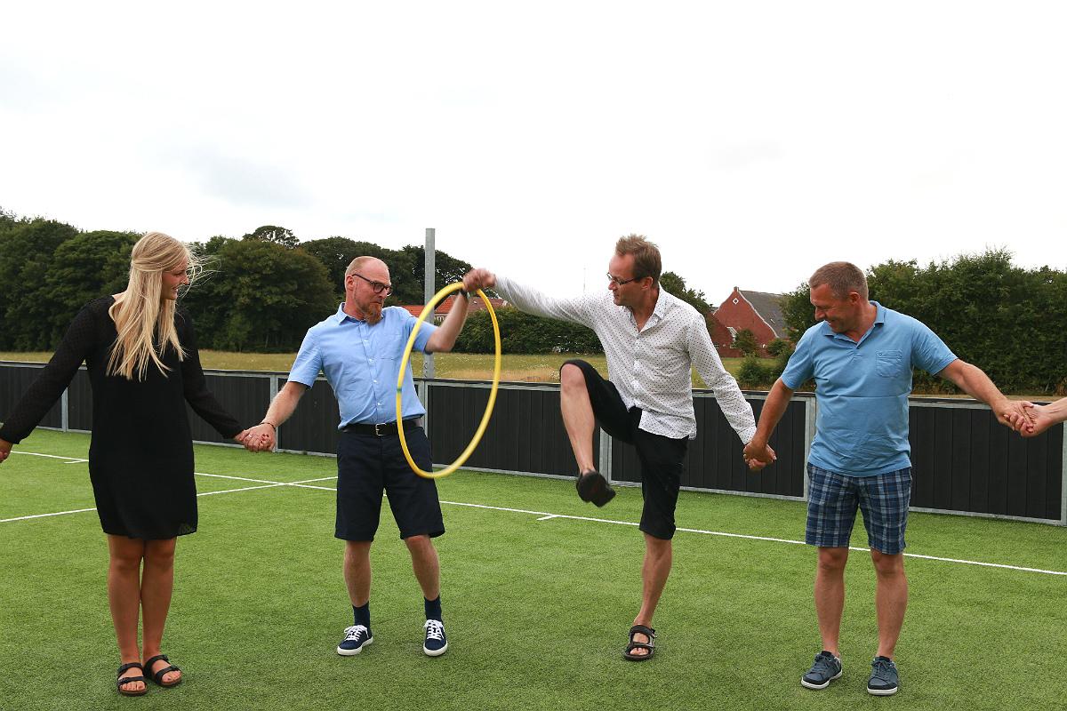 Atletisk hulahop-ring-konkurrence