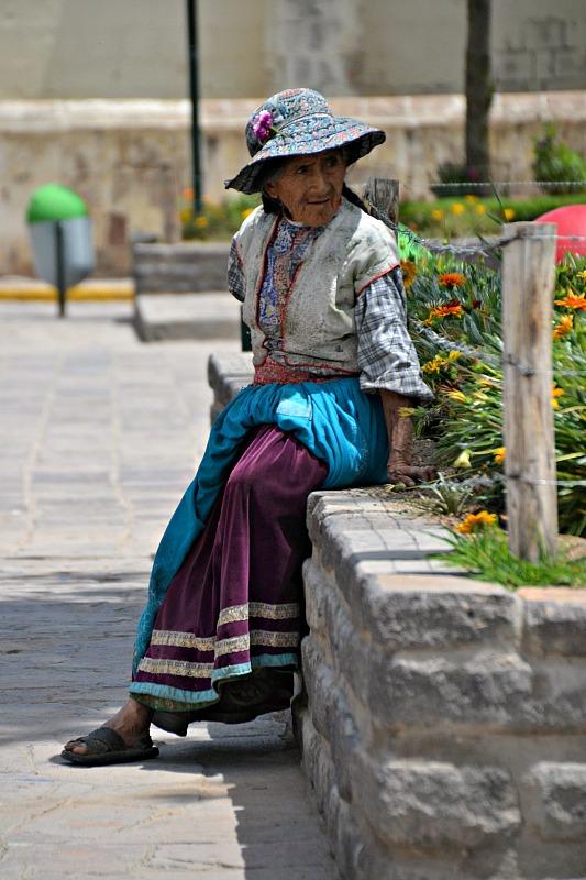 Kvinde fra Yanque