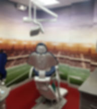 Dental Operatory Stadium Mural