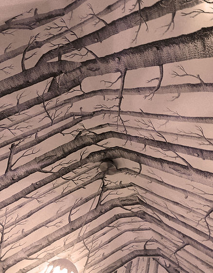 Bedroom alcove Trees