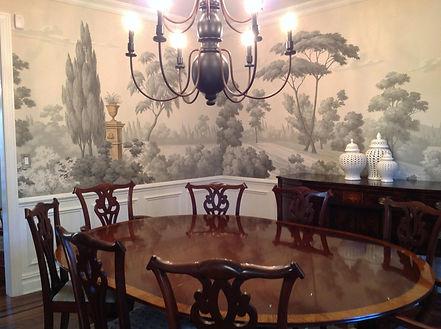 Scenic Mural - Dining Room