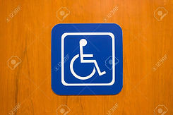 29519234-bule-disabled-person-sign-on-wo