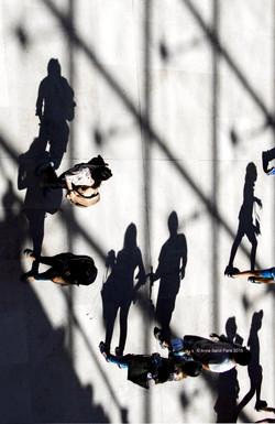 Shooting upside-down in Paris