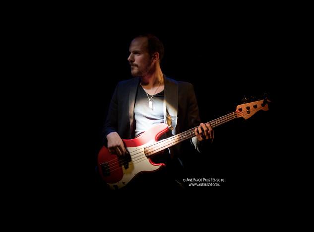 Jules Brosset, bassiste d'Arthédone