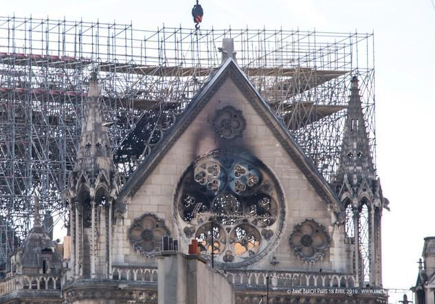 Notre-Dame de Paris, 17 April 2019