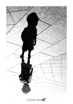 The little boy and his shadow
