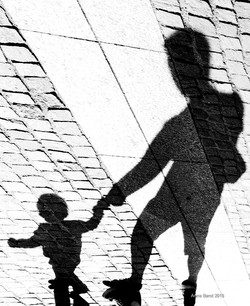 The little boy and his father