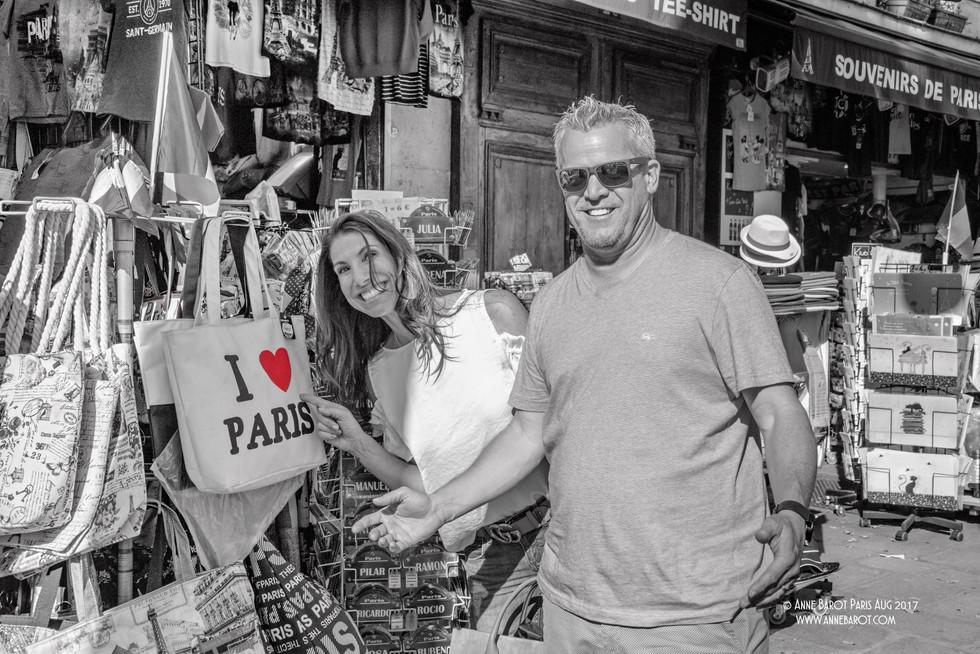 Justine & Mark in #paris