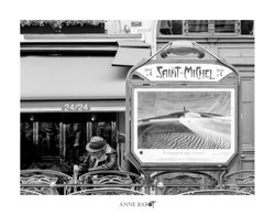 The man in St Michel (Paris)